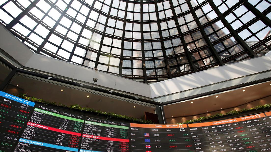 La Bolsa mexicana registra una caída de 6,42 %, su peor registro diario en más de una década