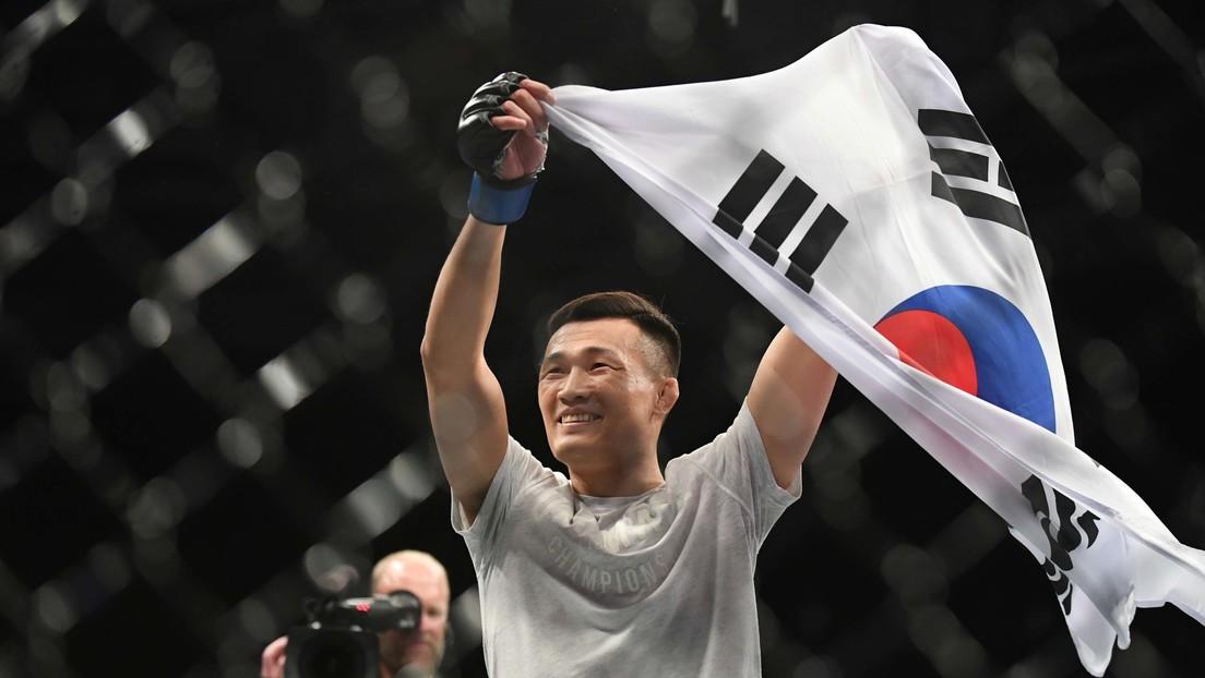 """""""Te noquearé y dejaré ensangrentada tu maldita cara"""": El 'Zombi coreano' reta a un luchador de la UFC, luego que atacara a su amigo músico"""