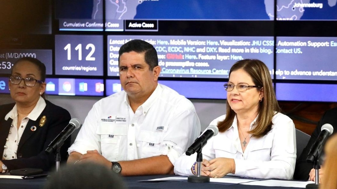 Panamá confirma el primer caso de coronavirus en el país
