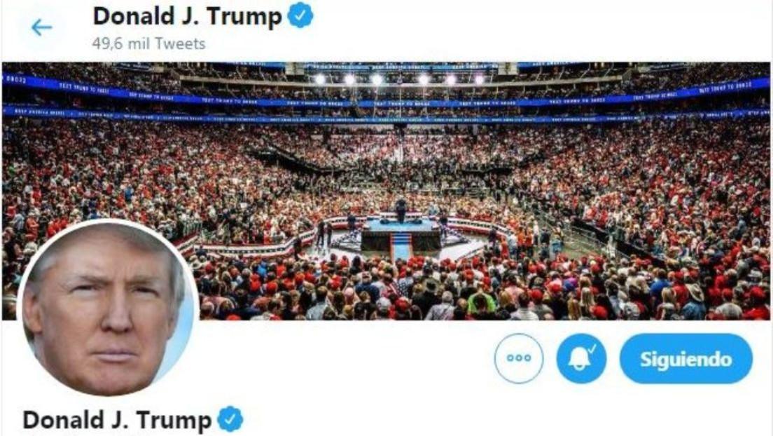 Twitter cataloga por primera vez como manipulado un video retuiteado por Trump