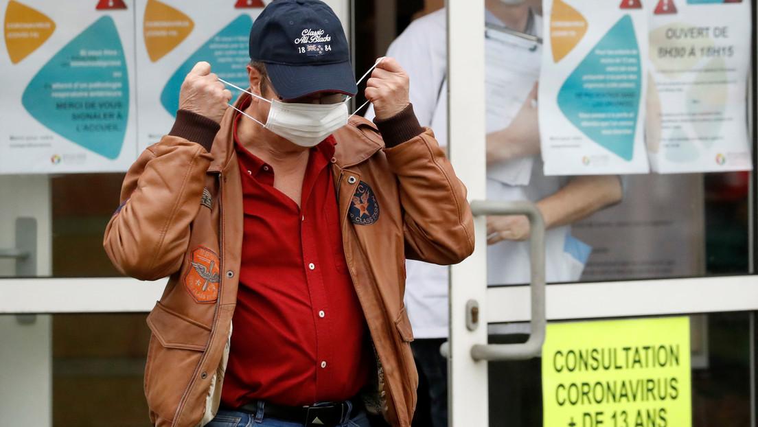 """Emmanuel Macron sobre el coronavirus: """"Estamos solo al inicio de esta epidemia"""""""