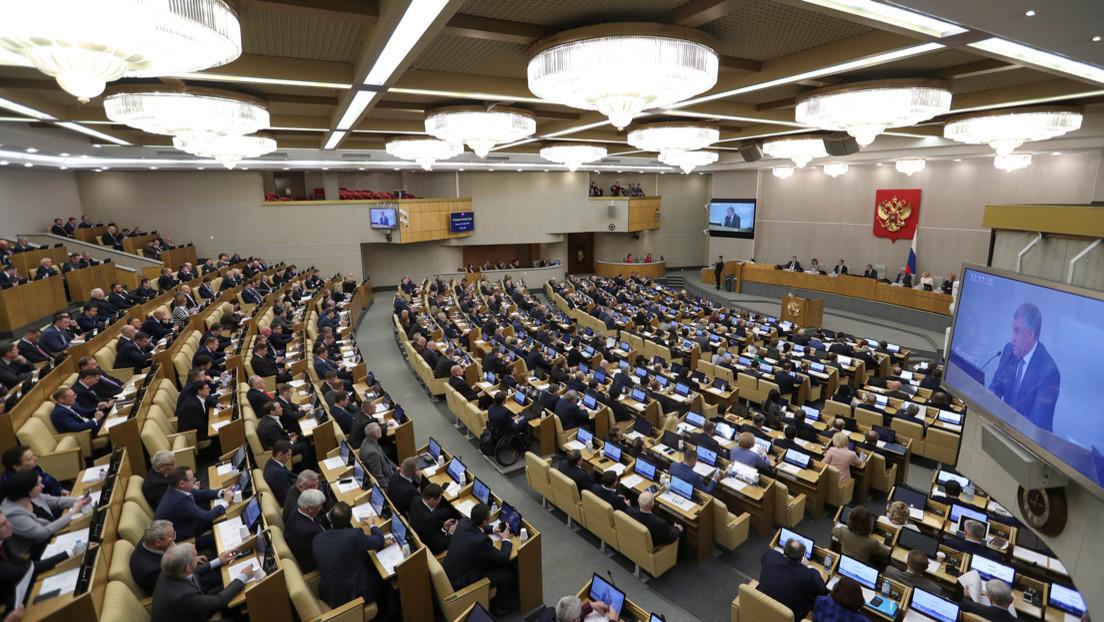 Putin no ve la necesidad de elecciones anticipadas a la Duma Estatal rusa