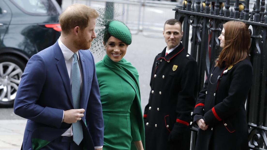 Meghan Markle homenajea con su vestido a la princesa Diana en su última comparecencia oficial como miembro de la familia real británica