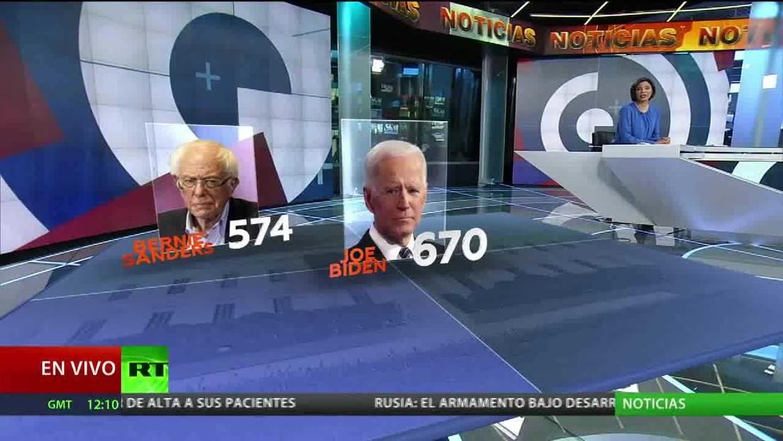 Encuestas muestran aumento del apoyo a Biden en una jornada decisiva para el partido demócrata con votaciones en seis estados