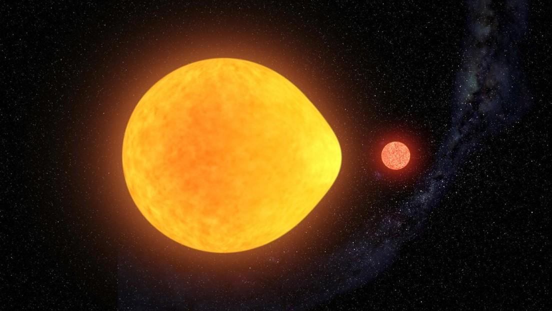 Un descubrimiento sin precedentes: tras 40 años de búsqueda dan con una estrella con forma de lágrima y que oscila en un solo hemisferio