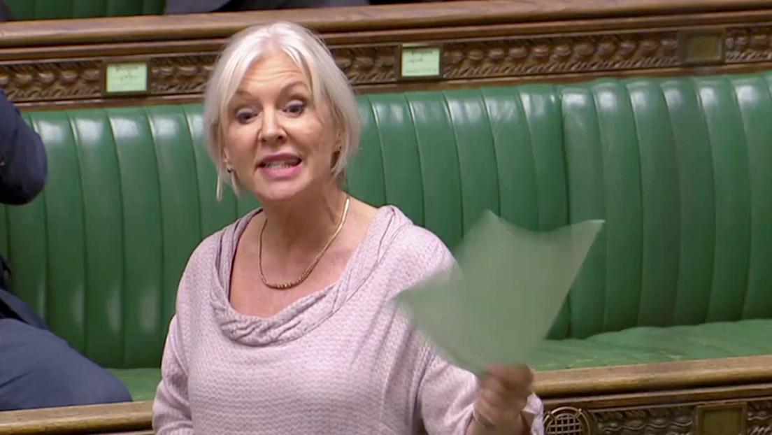 La subsecretaria de Salud británica Nadine Dorries está infectada de coronavirus