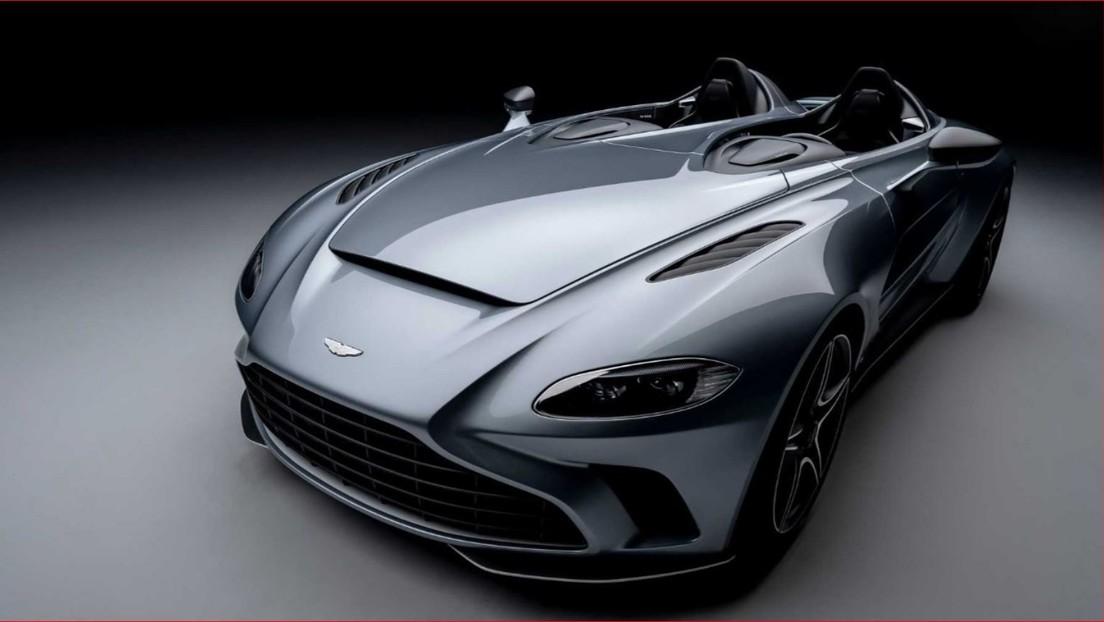 Aston Martin presenta el superdeportivo V12 Speedster, inspirado en el caza F/A-18