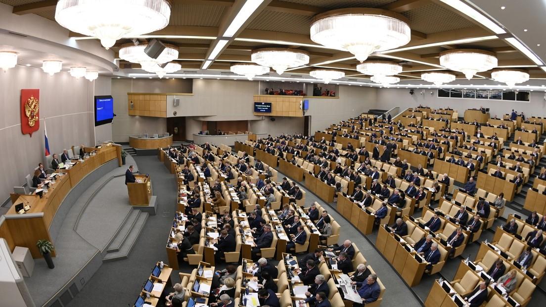 La Duma Estatal rusa aprueba el proyecto de ley sobre enmiendas a la Constitución