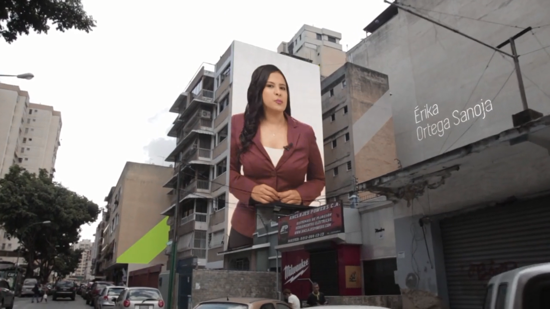 Noticias que superan muros: Érika Ortega Sanoja