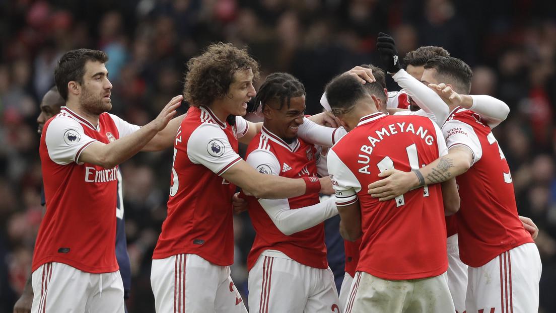 Ponen en cuarentena a los jugadores del Arsenal F.C. tras tener contacto con un portador del covid-19 y aplazan su partido contra el Manchester City