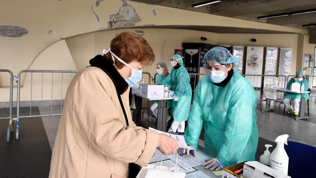 FOTOS: Enfermeras italianas muestran las consecuencias de las largas jornadas de trabajo para atender a pacientes con coronavirus