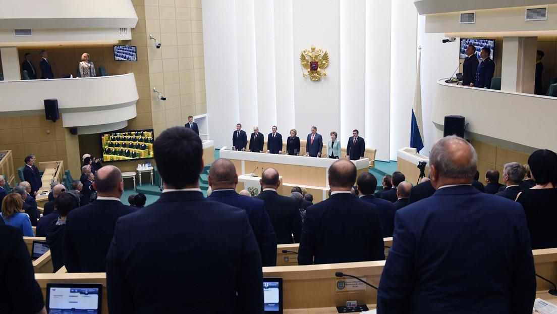 La Cámara Alta del Parlamento ruso aprueba la ley sobre las enmiendas a la Constitución