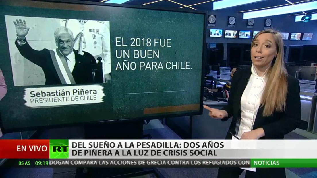 """Piñera llega """"debilitado"""" a la mitad de su mandato, pero Chile no tiene a """"nadie quien le suceda"""""""