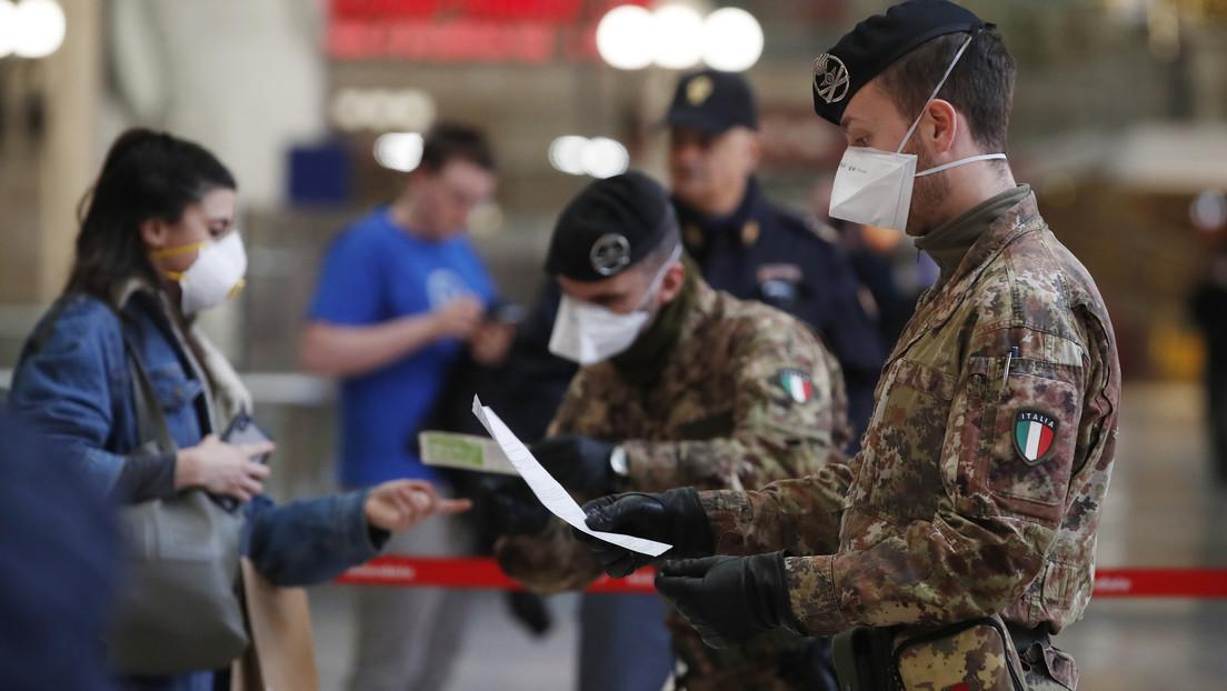 """OMS: """"Irán e Italia están ahora en la primera línea del coronavirus pero otros países muy pronto se encontrarán en la misma situación"""""""