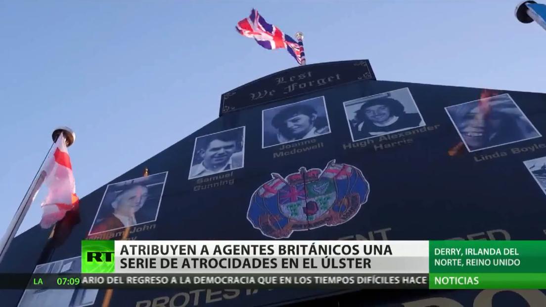 Atribuyen a agentes británicos una serie de atrocidades en el Úlster