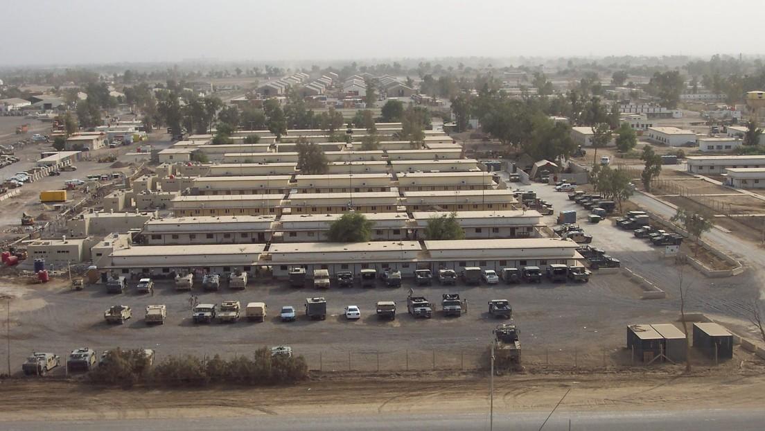 18 misiles impactan contra una base iraquí que alberga tropas estadounidenses