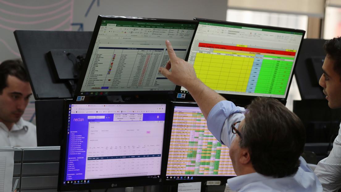 Bolsa de Sao Paulo interrumpe negociaciones tras caer 11,65 % en 20 minutos