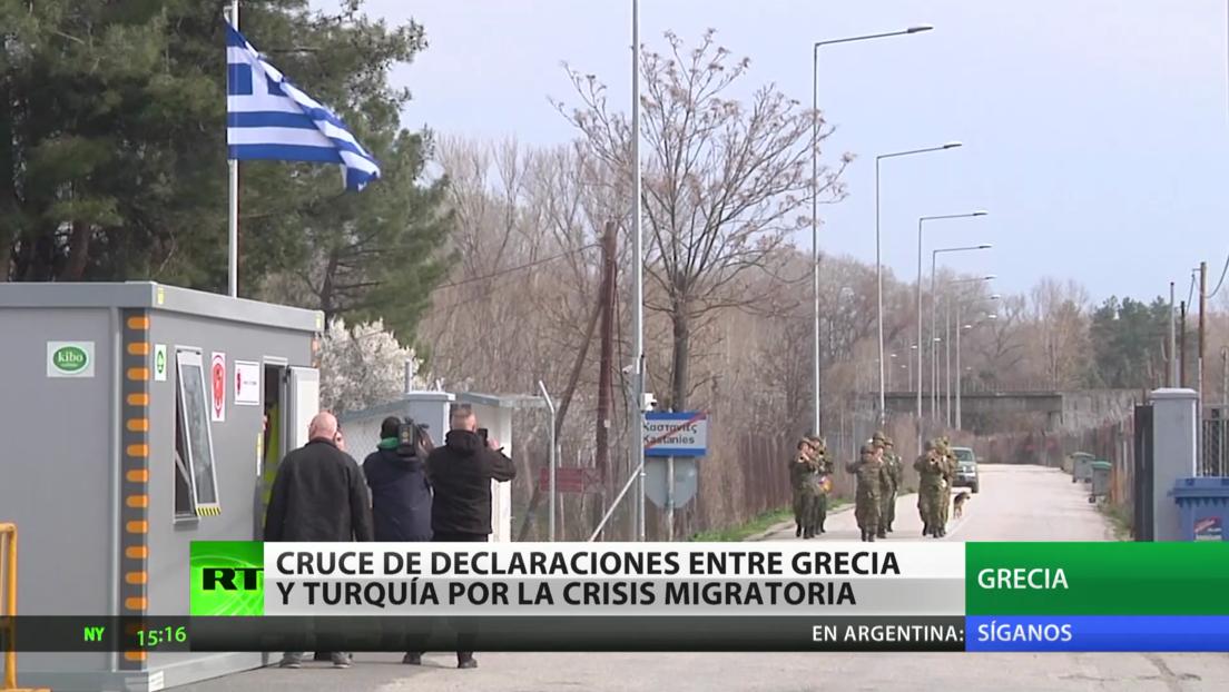 Grecia denuncia los comentarios del presidente turco sobre su trato hacia los refugiados y las comparaciones con los nazis