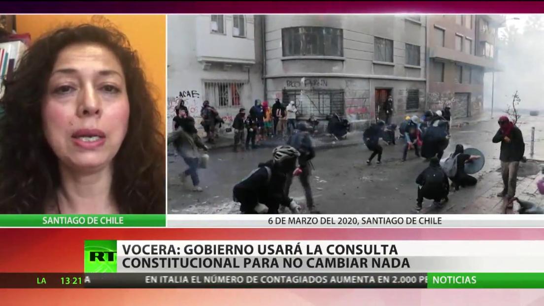 """Vocera de No+AFP: """"El Gobierno de Sebastián Piñera no quiere solucionar la crisis"""""""