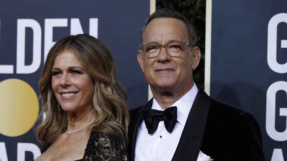 El actor Tom Hanks y su esposa Rita Wilson anuncian que han contraído el coronavirus