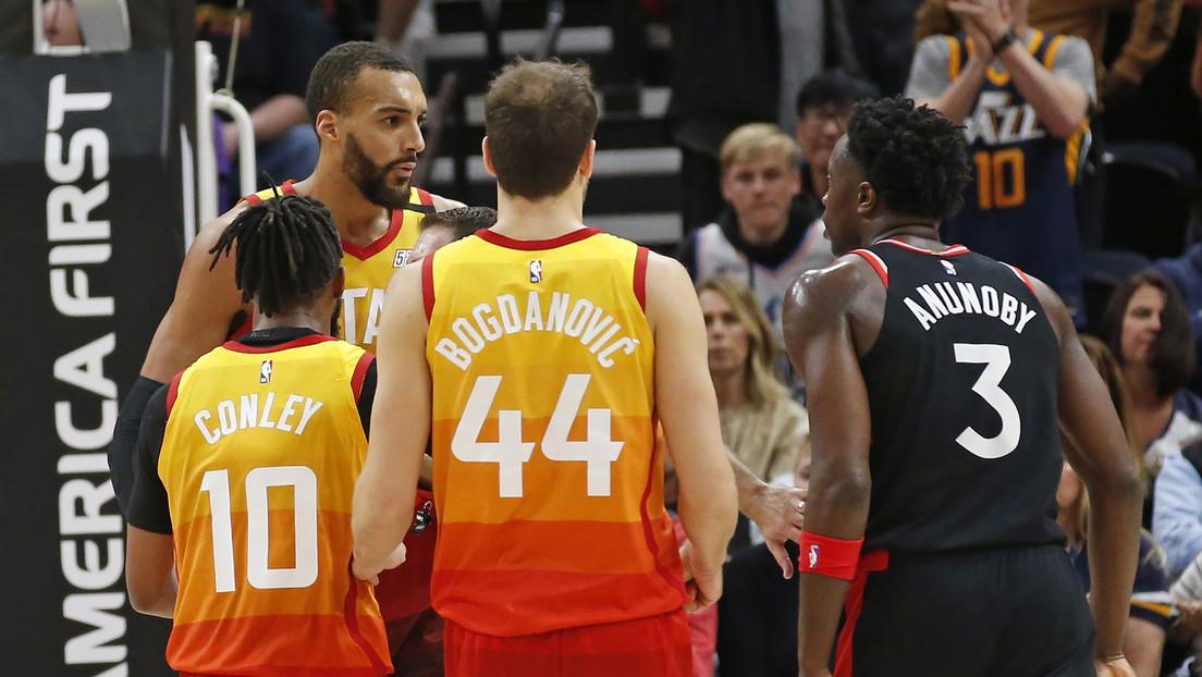 La NBA suspende la temporada tras contraer un jugador de los Utah Jazz el covid-19