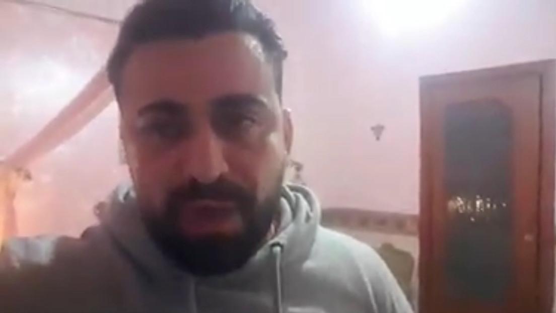 VIDEO: Actor italiano de la serie 'Gomorra' estuvo 36 horas encerrado con el cadáver de su hermana, fallecida por el coronavirus