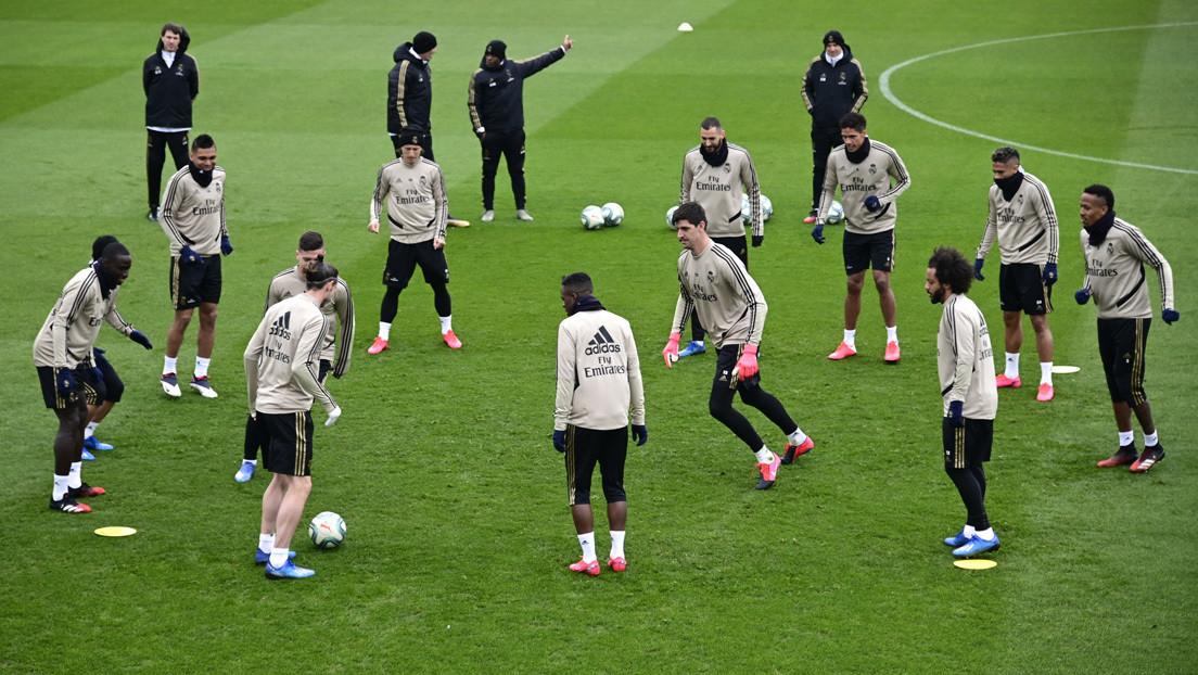 El Real Madrid pone en cuarentena a todos sus futbolistas y jugadores de baloncesto por el coronavirus