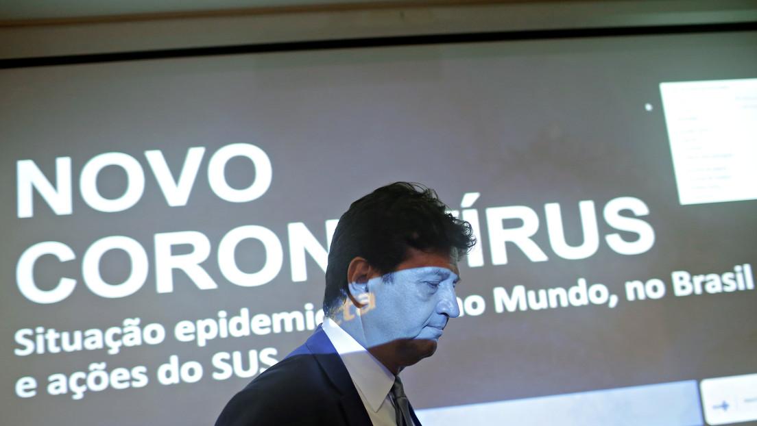 """El ministro de Salud de Brasil califica de """"tardía"""" la decisión de la OMS de considerar como pandemia el coronavirus"""