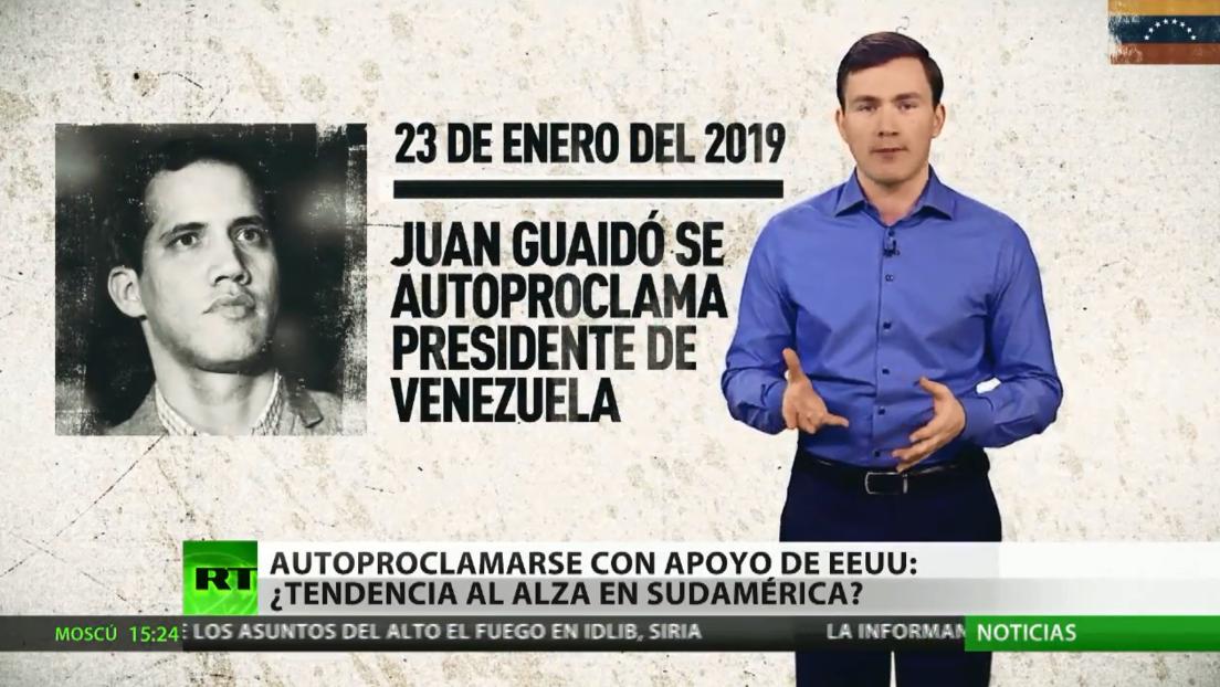 Autoproclamarse con apoyo de EE.UU.: ¿tendencia al alza en Sudamérica?