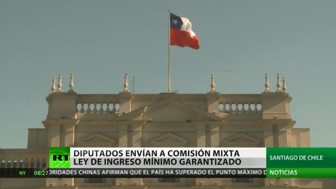Diputados chilenos envían a una comisión bicameral el proyecto de ley de ingreso mínimo