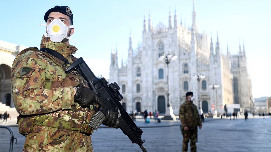 El covid-19 infecta a más de 15.000 personas y deja más de 1.000 víctimas mortales en Italia
