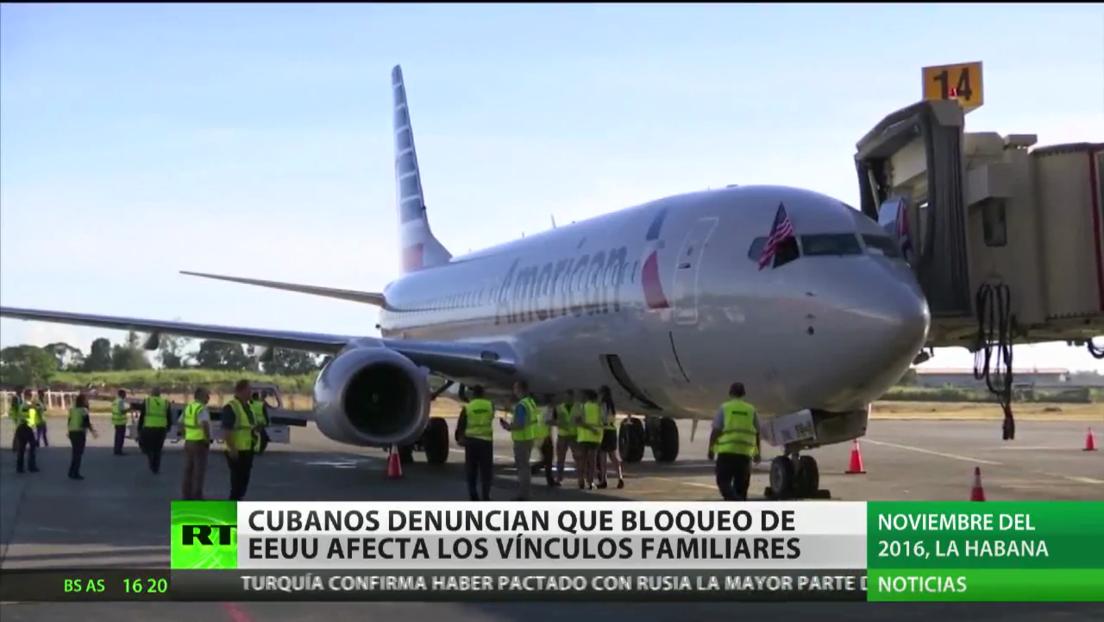 Cuba denuncia que bloqueo de EE.UU. afecta los vínculos familiares