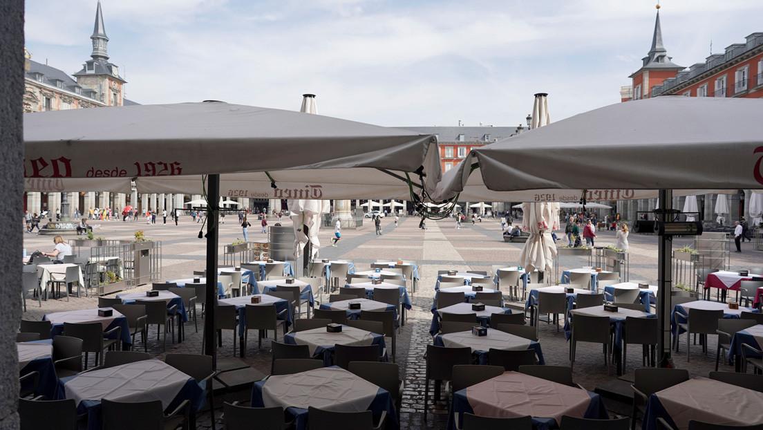 Madrid ordena el cierre de bares y restaurantes por el brote de coronavirus