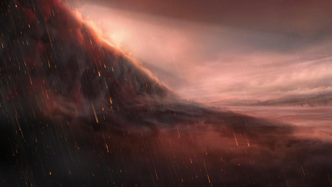 Este es el exoplaneta donde llueve hierro