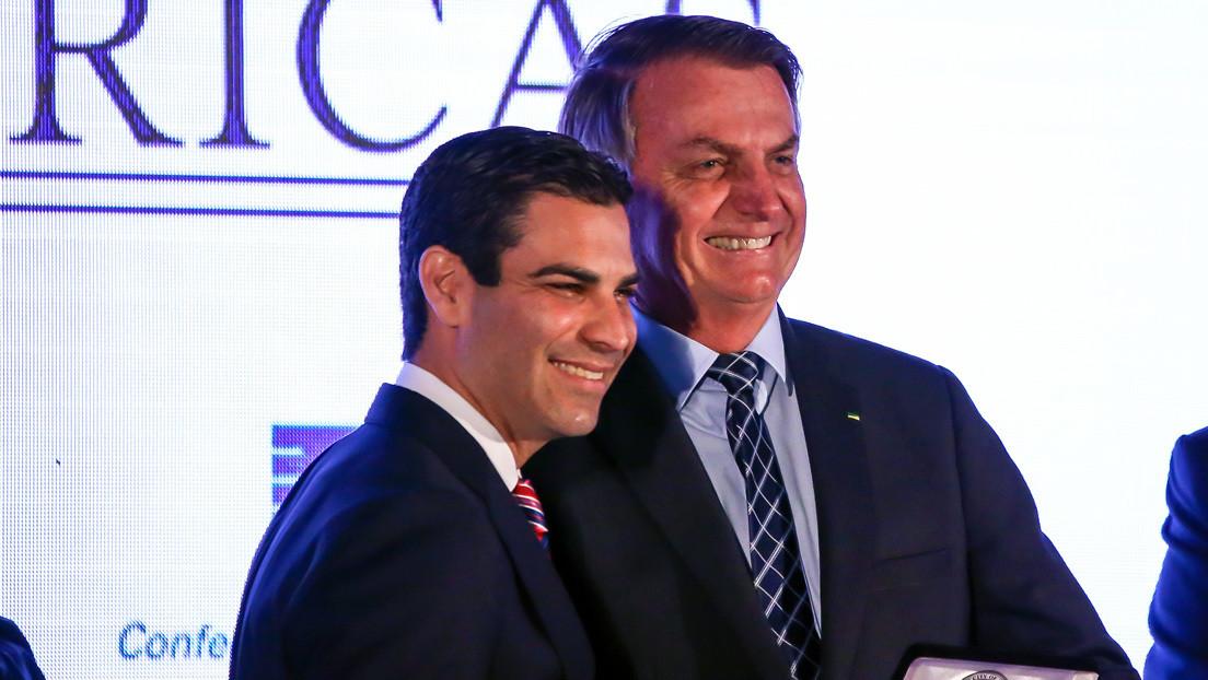 El alcalde de Miami, que participó en eventos con Bolsonaro, da positivo al coronavirus