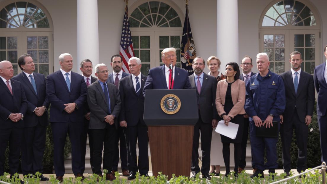 Trump declara la emergencia nacional para liberar fondos y responder al coronavirus