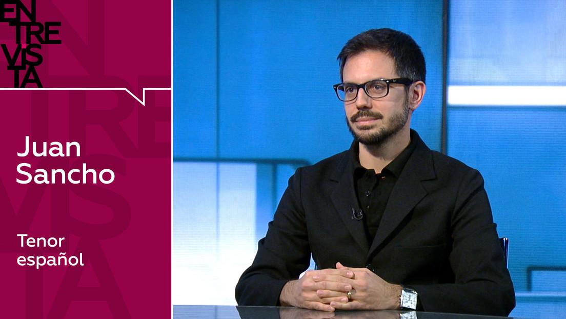 """Juan Sancho, tenor español: """"El problema de la ópera no es económico, ir al fútbol es más caro"""""""