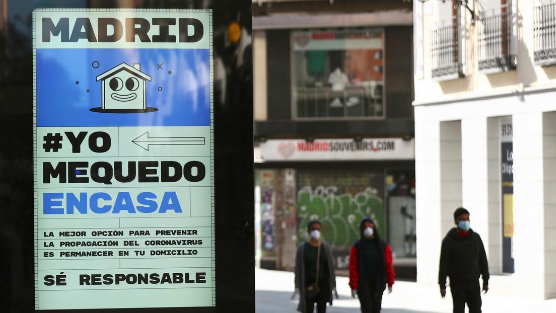 Aumenta en más de 1.500 el número de infectados por coronavirus en España en 24 horas