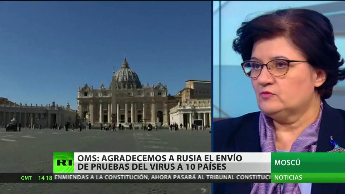 La OMS agradece a Rusia por el envío de pruebas del covid-19 a 10 países