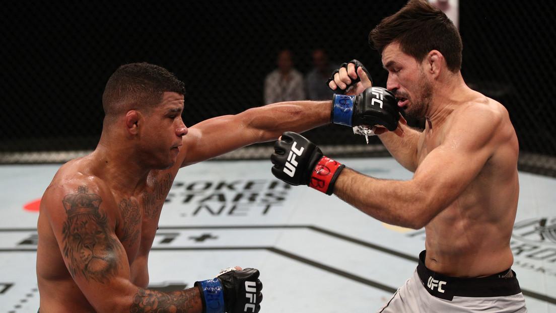 VIDEO: Luchador de la UFC manda a su rival a la lona con un potente izquierdazo y hace una pausa épica antes de terminarlo a 'martillazos'