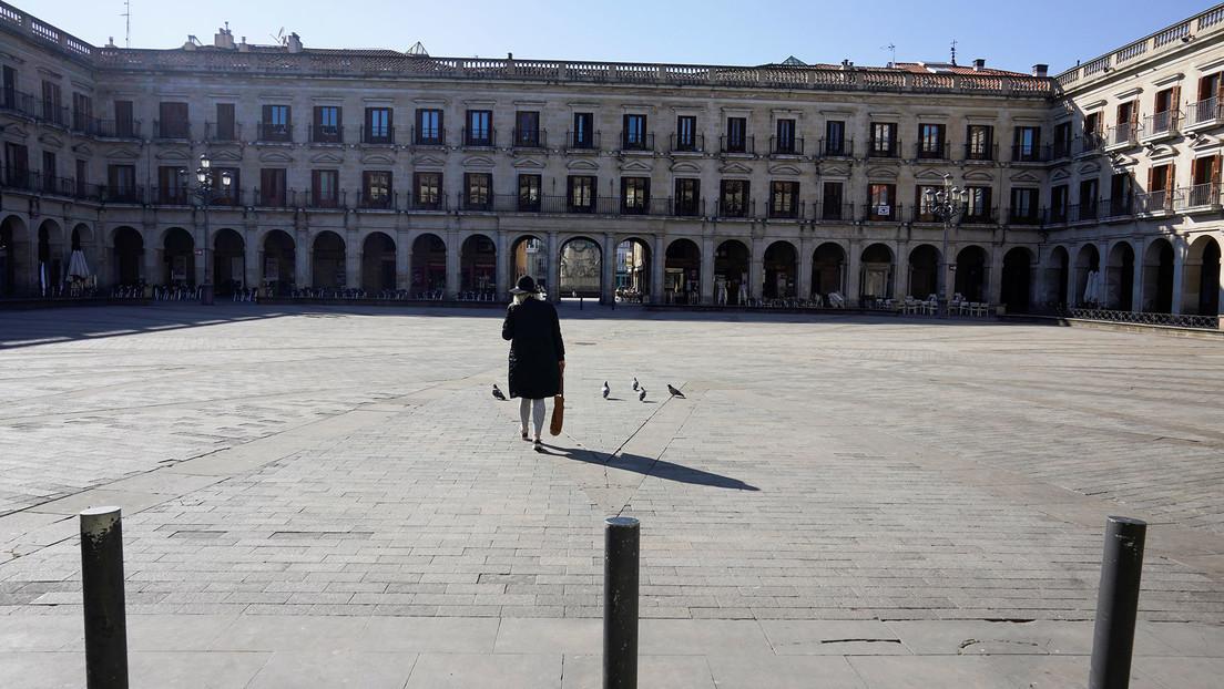VIDEO: Las calles vacías de Madrid después de la entrada en vigor del estado de alarma en España por el covid-19