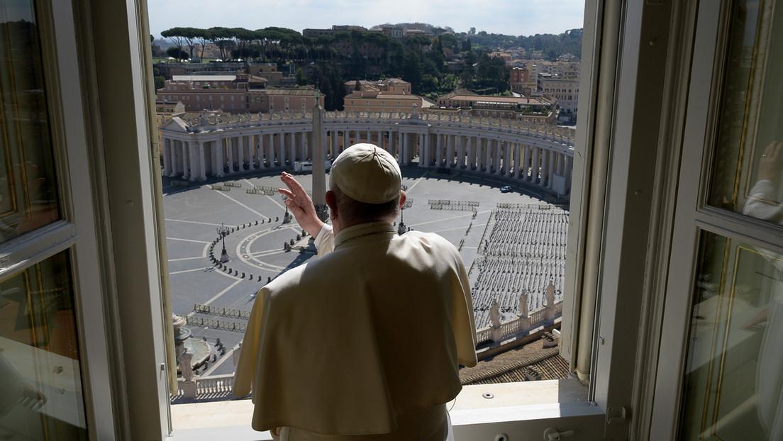 El Vaticano anuncia que el papa Francisco oficiará todas las misas de Pascua sin la presencia de fieles a causa del coronavirus