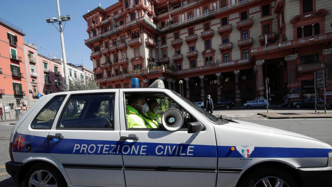 Se registran 368 nuevas muertes por coronavirus en Italia, el número máximo en 24 horas