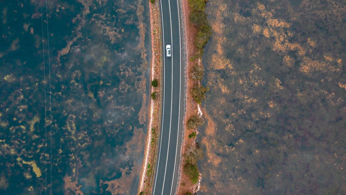 Publican imágenes aéreas de la devastadora sequía en Australia