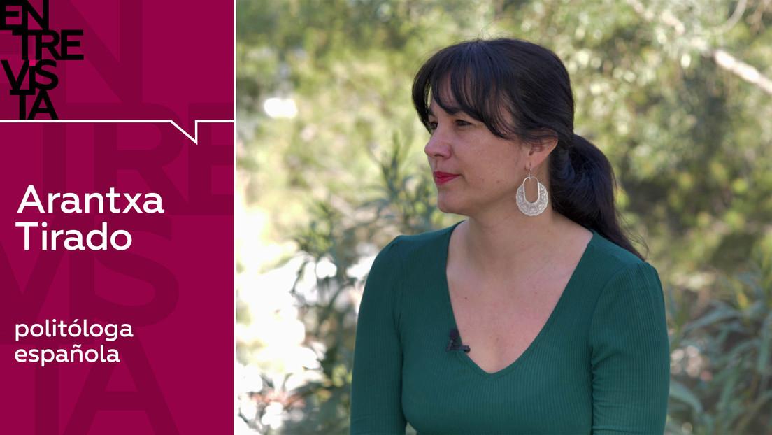 """Arantxa Tirado, politóloga española: """"Quería mostrar que sí hay pan en Venezuela a pesar de lo que dicen en televisión"""""""