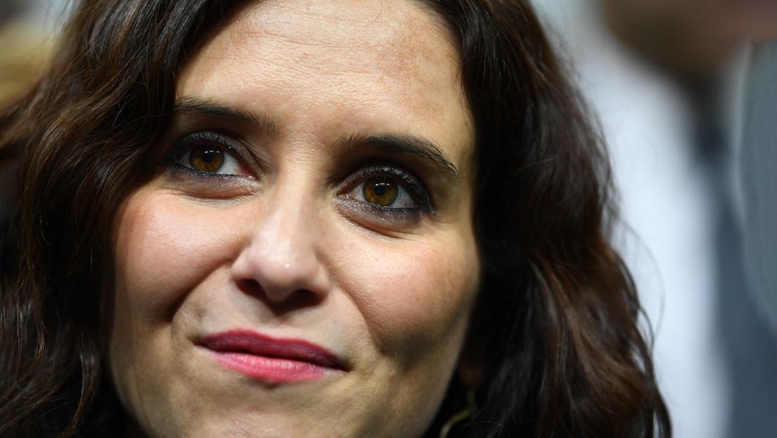 La presidenta de la Comunidad de Madrid, Isabel Díaz Ayuso, da positivo por coronavirus