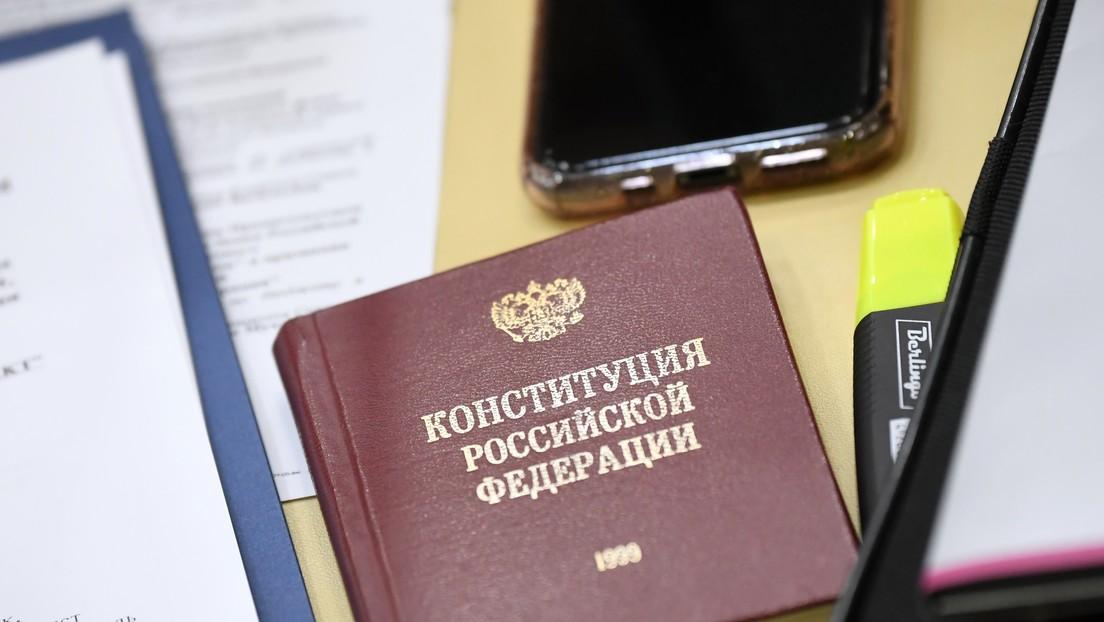 El Tribunal Constitucional de Rusia aprueba las enmiendas a la Constitución que permitirían la reelección de Putin en 2024