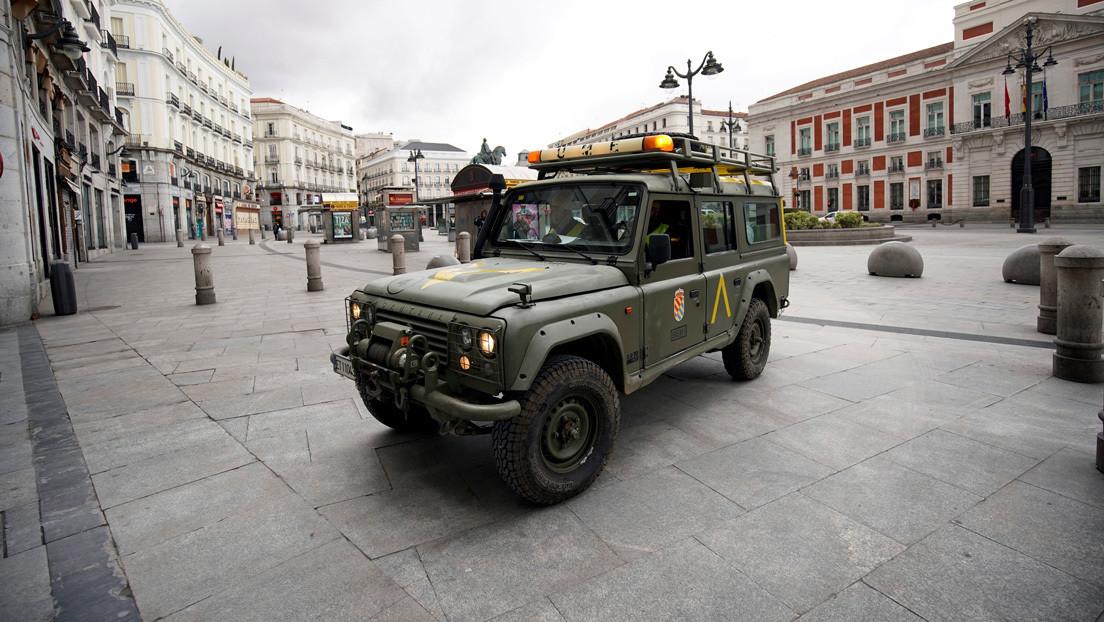 Primera jornada laboral tras el confinamiento en España: ciudades vacías y el Ejército en las calles