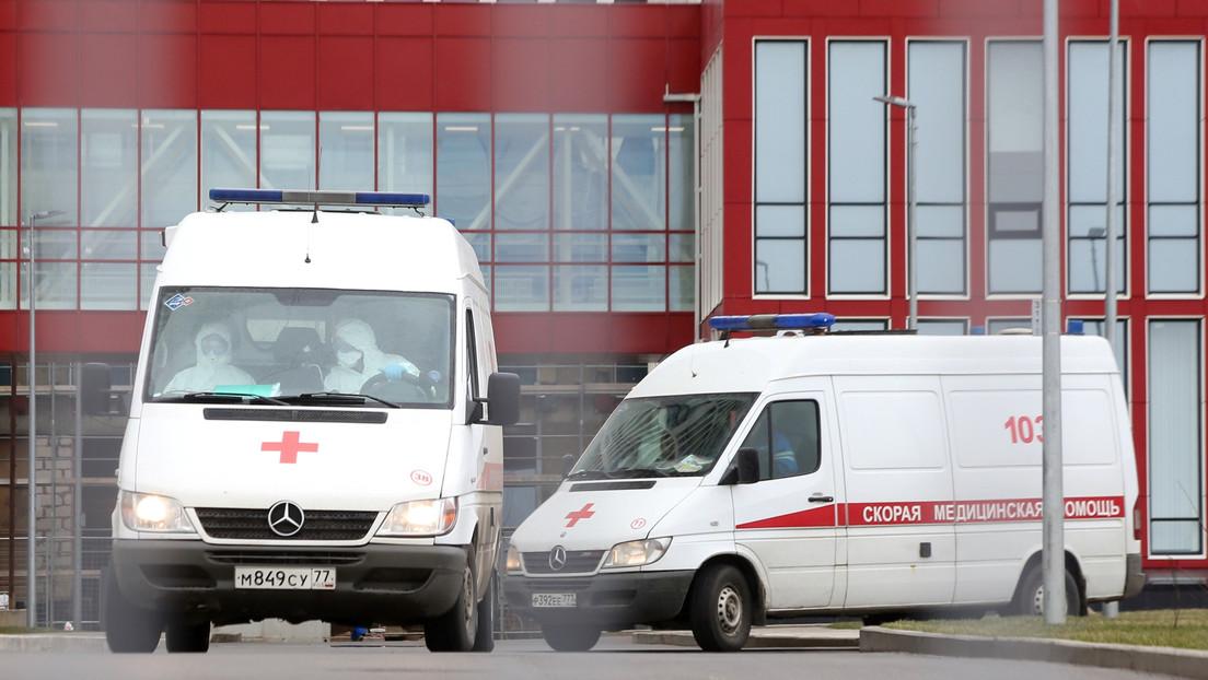 Rusia confirma 114 casos de coronavirus