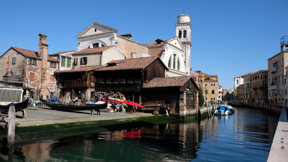 El agua de los canales de Venecia se vuelve cristalina durante la cuarentena (VIDEOS, FOTOS)